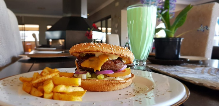 Hike and Burger at R125 per person