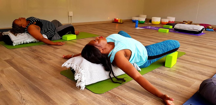 Restorative Yoga Retreat from R2500 per person sharing